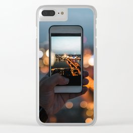 Picture of a picture - Cologne, Germany Clear iPhone Case