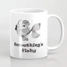 Cute funny fish Coffee Mug