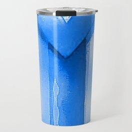 PUERTO RICO FAG - OCEAN BLUE - ART DONATION Travel Mug