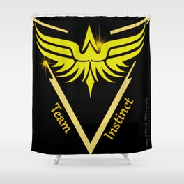 Instinct Team - Show Your Pride Shower Curtain