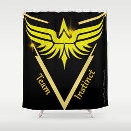 Instinct Team - Show Your Pride Shower Curtain