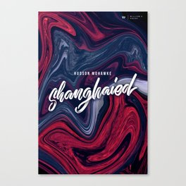Shanghaied - poster Canvas Print