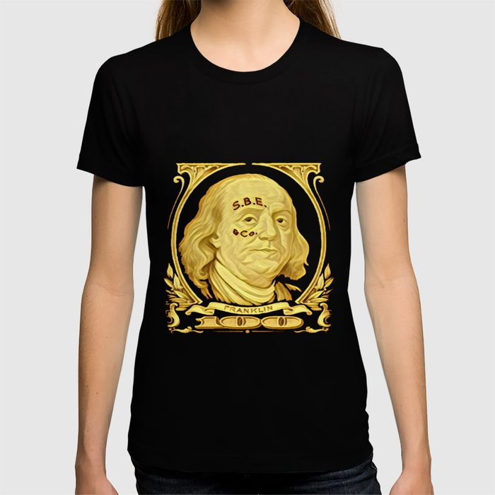 Ben Franklin | S.B.E.& Co. Tattoo T-shirt