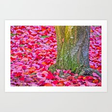 It´s Fall, Stand Tall! Art Print