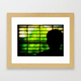 Self-Imposed Captivity Framed Art Print