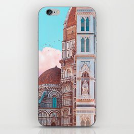 The magical side of Florence iPhone Skin