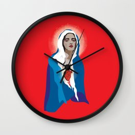 Virgin of Guadalupe Wall Clock