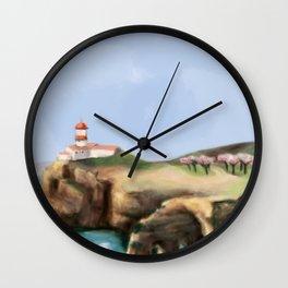 Algarve landscape Wall Clock