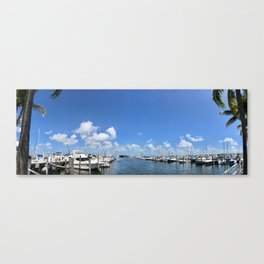 Coconut Grove Canvas Print