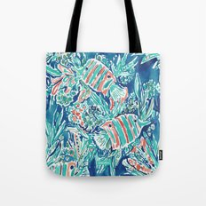HERE FISHIE Tote Bag