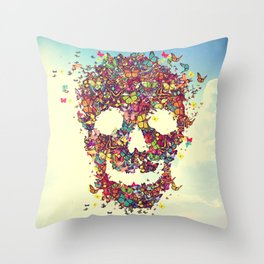 Flutter Bye Throw Pillow