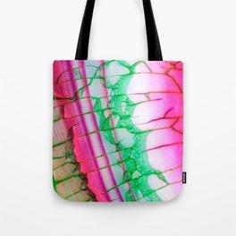 Psychedelic Tie Dye Quartz Tote Bag