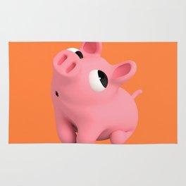 Rosa the Pig Shy Rug
