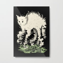 Domesticated Metal Print