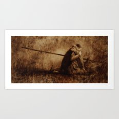 Worth Fighting For Art Print