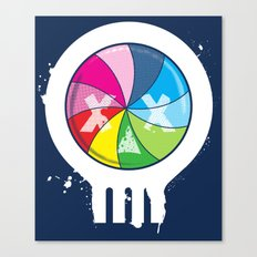 Pinwheel of Death Canvas Print