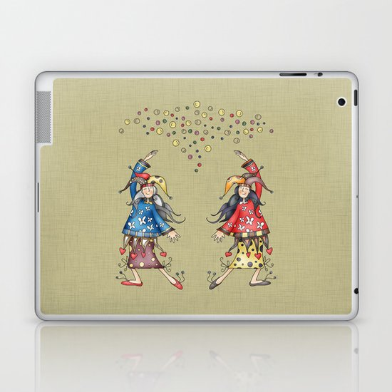 Lady Jokers Laptop & iPad Skin