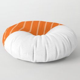 Simple Salmon Sushi Floor Pillow