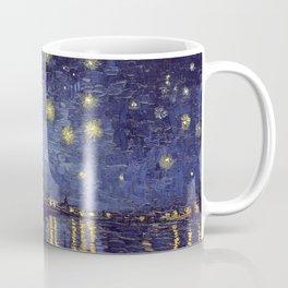 Vincent Van Gogh Starry Night Over The Rhone Coffee Mug