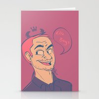 crowley Stationery Cards featuring Crowley by The Art of Nicole