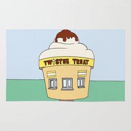 Ice Cream Sunday - Twistee Treat Rug