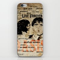 oasis iPhone & iPod Skins featuring Oasis by Colo Design