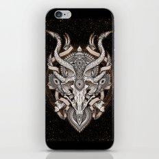 Siren Skull iPhone & iPod Skin