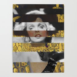 Klimt's Judith and the Head of Holofernes & Marlene Poster