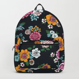 Bright summer flowers Backpack