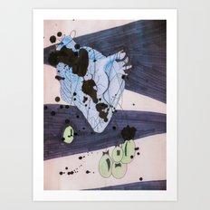 Grab Some Heart.  Art Print
