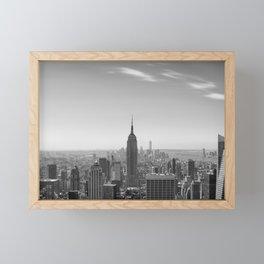 New York City - Empire State Building Framed Mini Art Print