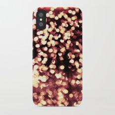 Bokeh Pink Slim Case iPhone X
