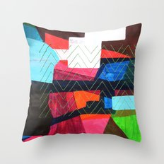 Je reviens Throw Pillow