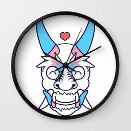 TRANSGENDER PRIDE Oni Wall Clock
