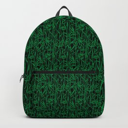 Bamboo forest seamless pattern Backpack