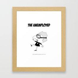 The Unemployed - Polino Framed Art Print