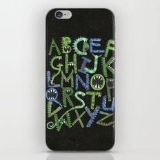 Monster Alphabet. iPhone & iPod Skin
