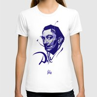 salvador dali T-shirts featuring Salvador Dali by Henri Fdz