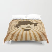 rocky Duvet Covers featuring Rocky by Durro