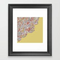 Flower Medley #1 Framed Art Print