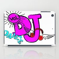 dj iPad Cases featuring DJ by Christa Bethune Smith