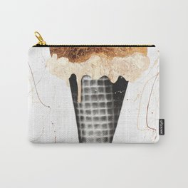 Chocolate Ice Cream Carry-All Pouch