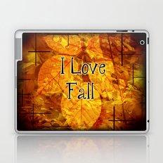 Autumn Memories In Orange I Love Fall.jpg Laptop & iPad Skin