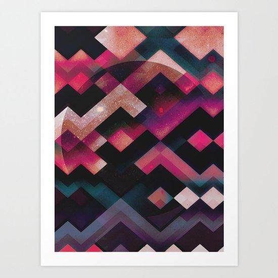wyryd wyrm Art Print