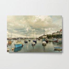 Brixham harbor  Metal Print