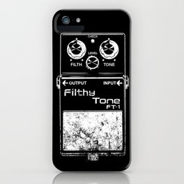 Filthy Tone Guitar Pedal iPhone Case