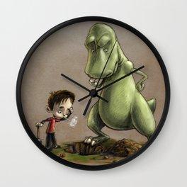 Digging for Dinosaurs Wall Clock