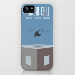 Margin Call, minimalist movie poster, Kevin Spacey, Stanley Tucci, Demi Moore iPhone Case