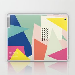 Shapes and Waves Laptop & iPad Skin