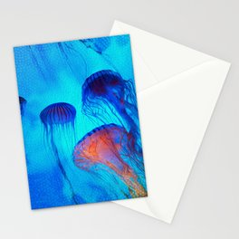 Watch the Flow of the Jelly Glow  Stationery Cards